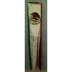 "40""Mexico Flag Windsock"