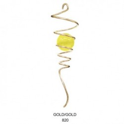 SPIRAL TaiL GOLD Crystal