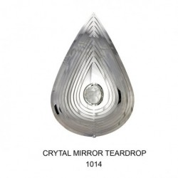 Teardrop Crystal Mirror